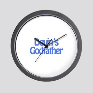 Devin's Godfather Wall Clock