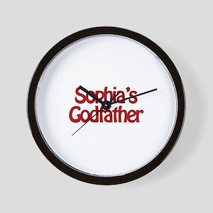 Sophia's Godfather Wall Clock