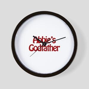 Abbie's Godfather Wall Clock