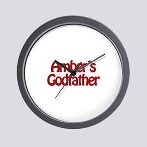 Amber's Godfather Wall Clock