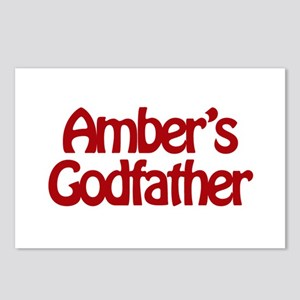 Amber's Godfather Postcards (Package of 8)