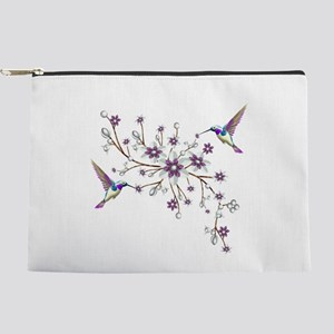 Hummingbirds Makeup Bag