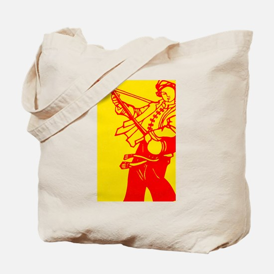 Musician go Brightly Tote Bag