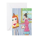 The Artist Greeting Cards