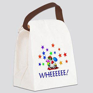 Shroom Merriment Canvas Lunch Bag