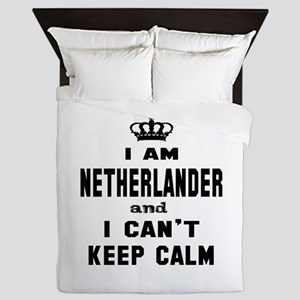 I am Netherlander and I can't keep cal Queen Duvet