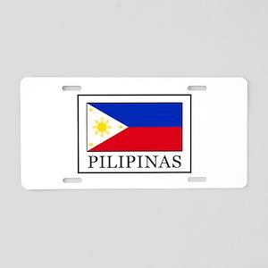 Pilipinas Aluminum License Plate