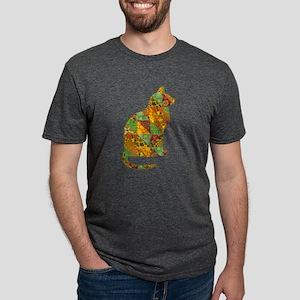 Cat Patchwork Quilt T-Shirt