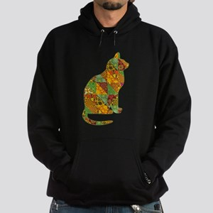 Cat Patchwork Quilt Sweatshirt