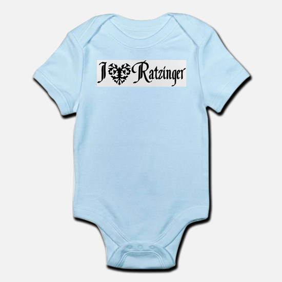 I *heart* Ratzinger! Infant Creeper
