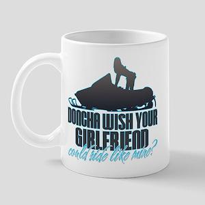 Doncha Wish - Like Mine Snowmobile Mug