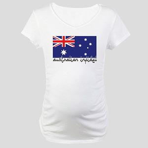 Australian Infidel Maternity T-Shirt