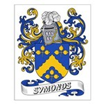 Symonds Coat of Arms Small Poster
