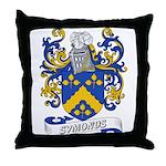 Symonds Coat of Arms Throw Pillow