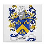 Symonds Coat of Arms Tile Coaster