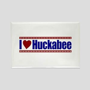 I Love Huckabee Rectangle Magnet