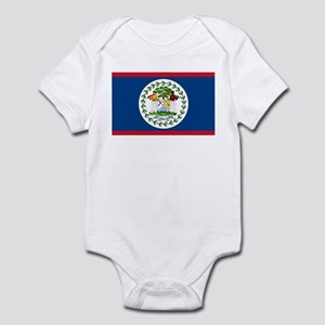 Belize Country Flag Infant Bodysuit