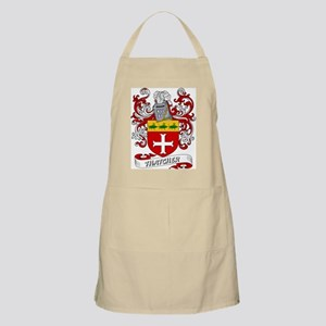 Thatcher Coat of Arms BBQ Apron