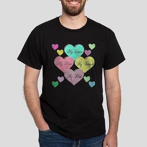 4 Hearts Pilot Dark T-Shirt