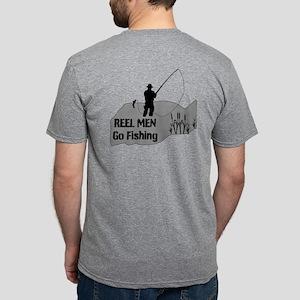 REEL MEN Go Fishing Mens Tri-blend T-Shirt