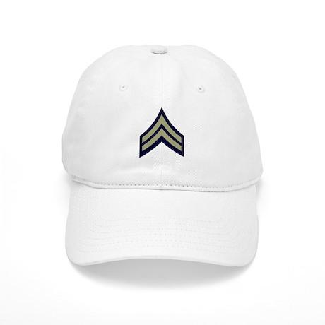 Corporal<BR> White Cap
