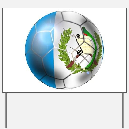 Guatemala Football Yard Sign