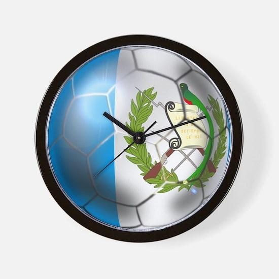 Guatemala Football Wall Clock