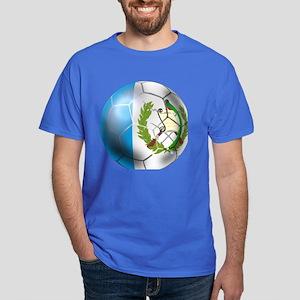 Guatemala Football Dark T-Shirt