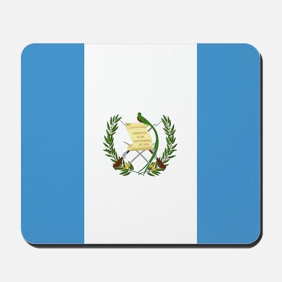 Flag of Guatemala Mousepad