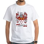Thorndike Coat of Arms White T-Shirt