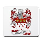 Thorndike Coat of Arms Mousepad