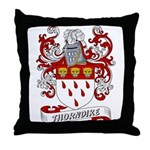 Thorndike Coat of Arms Throw Pillow