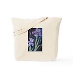 Tote Bag Iris Painting