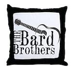 Bard Brothers Throw Pillow