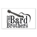Bard Brothers Rectangle Sticker