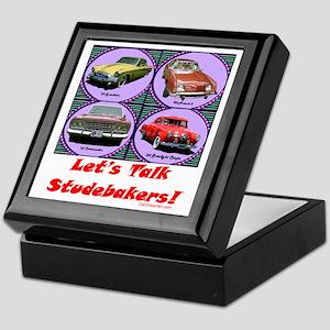 """Let's Talk Studebakers"" Keepsake Box"