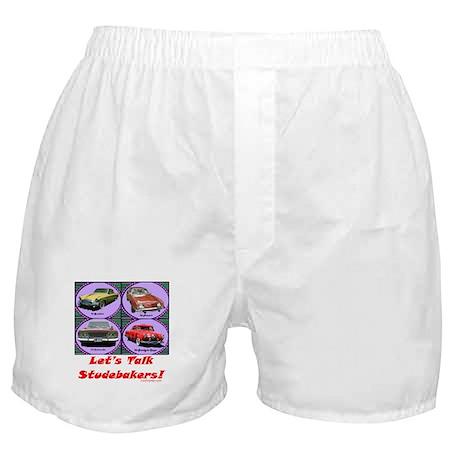 """Let's Talk Studebakers"" Boxer Shorts"