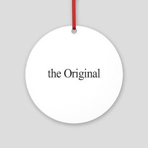 The Original Ornament (Round)