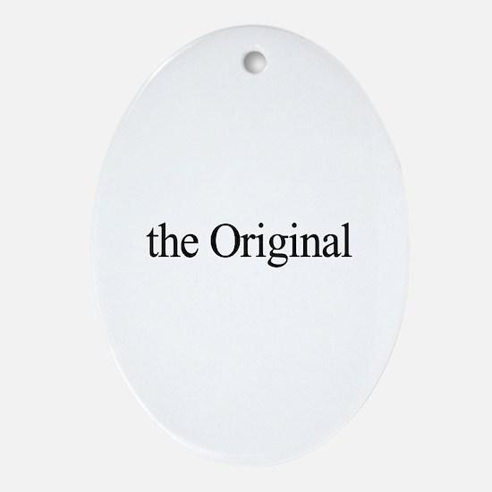 The Original Oval Ornament