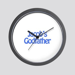 Jacob's Godfather Wall Clock