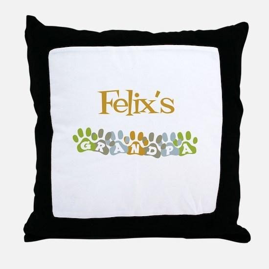 Felix's Grandpa Throw Pillow