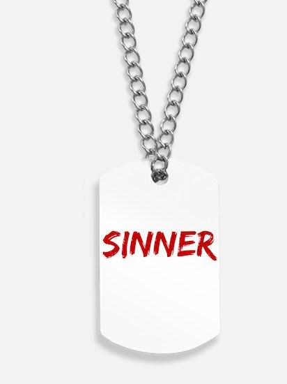 Sinner Dog Tags