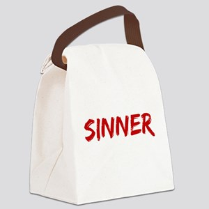 Sinner Canvas Lunch Bag