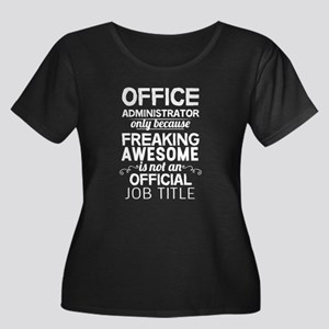 Office Administrator Plus Size T-Shirt
