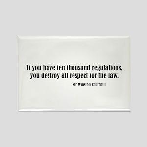 Regulations Rectangle Magnet