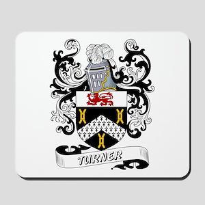 Turner Coat of Arms Mousepad