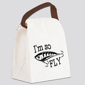 I'm So Fly Canvas Lunch Bag