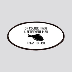 Retirement Plan Fishing Patches