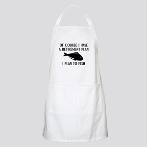 Retirement Plan Fishing Apron