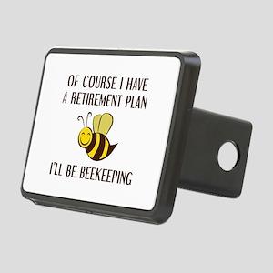 Retirement Plan Beekeeping Rectangular Hitch Cover